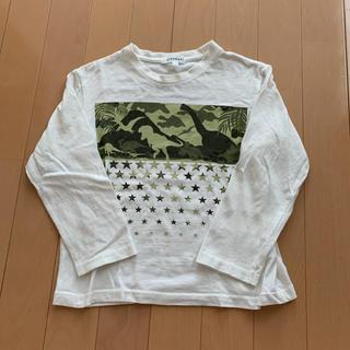 ハッシュアッシュ(HusHush)のハッシュアッシュ 恐竜 ロンT 120(Tシャツ/カットソー)