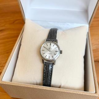 オメガ(OMEGA)のOMEGA Mister Geneve オメガ時計シルバーグレー(腕時計)