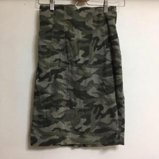 ブージュルード(Bou Jeloud)のブージュルード♡カモフラタイトスカート(ひざ丈スカート)