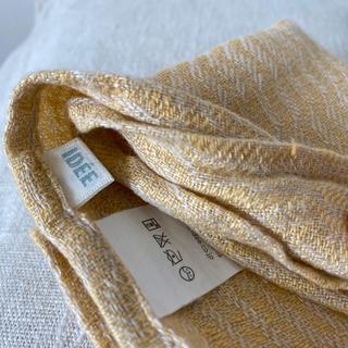 イデー(IDEE)の#05 IDEE spalvaリネン2点セット 新品リトアニア限定販売(収納/キッチン雑貨)
