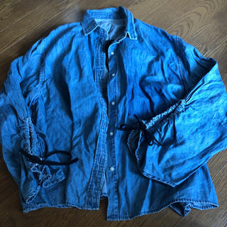 ミラオーウェン(Mila Owen)のMila owen 変形デニムシャツ デザイン(シャツ/ブラウス(長袖/七分))
