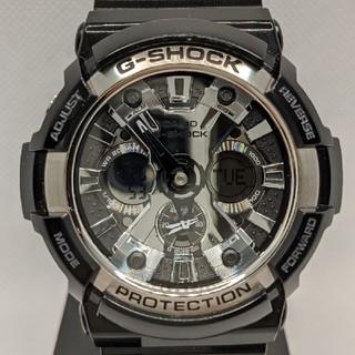 ジーショック(G-SHOCK)のG-SHOCK GA-200SH-1AJF ブラック(腕時計(デジタル))