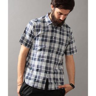 ビューティアンドユースユナイテッドアローズ(BEAUTY&YOUTH UNITED ARROWS)の半袖チェックシャツ ユナイテッドアローズ(シャツ)