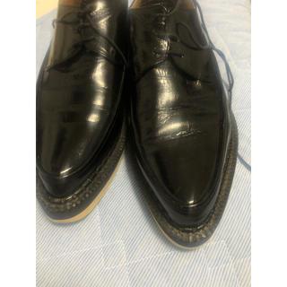 アンダーカバー(UNDERCOVER)の定価56,000円 アンダーカバー  シャークソール 革靴(ドレス/ビジネス)