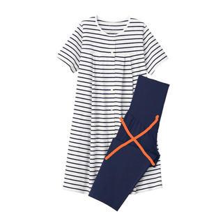 ムジルシリョウヒン(MUJI (無印良品))の無印 マタニティ パジャマ 半袖上着のみ(マタニティパジャマ)