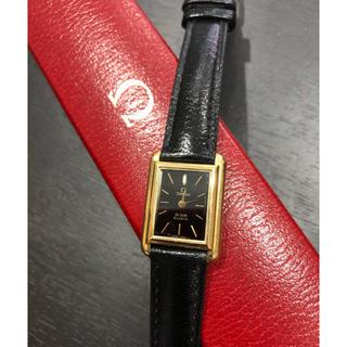 オメガ(OMEGA)の希少 オメガ デビル Ω レディース 腕時計  スクエア 箱/ギャランティ(腕時計)