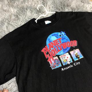ハレ(HARE)の美品 プラネットハリウッドTシャツ(Tシャツ/カットソー(半袖/袖なし))
