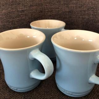 LE CREUSET - ルクルーゼマグカップS 3個(1個はおまけ)