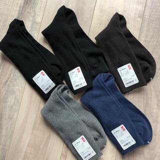 ユニクロ(UNIQLO)のユニクロ メンズ 靴下 27〜29cm(ソックス)