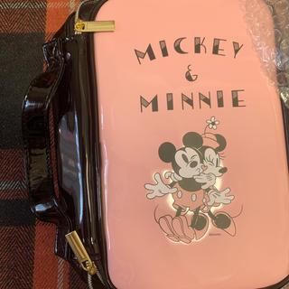 ミッキーマウス(ミッキーマウス)のミッキーミニー 化粧ポーチ ミラー付き 新品(ポーチ)
