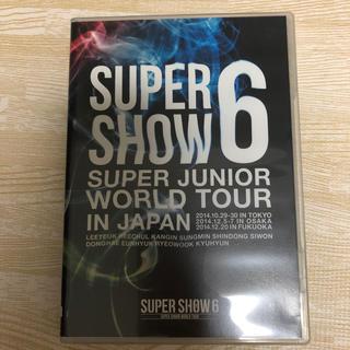 スーパージュニア(SUPER JUNIOR)のsuper junior/DVD/スパショ6(アイドル)
