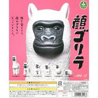 タカラトミーアーツ(T-ARTS)のパンダの穴 顔ゴリラ 全6種セット(その他)