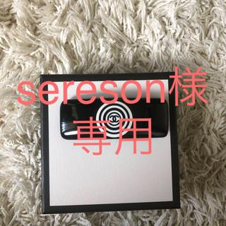 シャネル(CHANEL)のシャネル CHANEL バレッタ 白×黒 9cm×3cm *綺麗な品です*(ヘアピン)