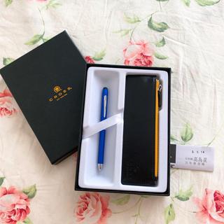 クロス(CROSS)のCROSS ボールペン ペンケース付き(ペン/マーカー)