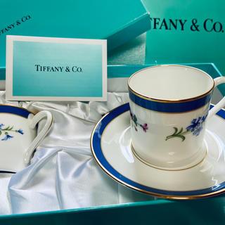 Tiffany & Co. - コーヒーカップ ティファニー 箱、紙袋、リボン付き