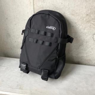 ビームス(BEAMS)のciatre daypack BLACK シアター リュック バックパック(バッグパック/リュック)