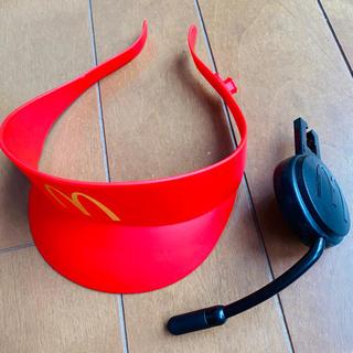 マクドナルド(マクドナルド)のマクドナルド☆ハッピーセット2019 店員さんなりきりセット(知育玩具)