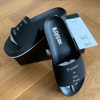 アンダーカバー(UNDERCOVER)の新品 20SS UNDERCOVER × HAYN サンダル XL 黒(サンダル)