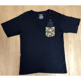 アヴィレックス(AVIREX)のAVIREX アヴィレックス ポケット迷彩T   Lサイズ(Tシャツ/カットソー(半袖/袖なし))