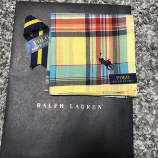 POLO RALPH LAUREN - ポロラルフローレン ハンカチ