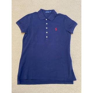 ポロラルフローレン(POLO RALPH LAUREN)のラルフローレン ポロシャツ ネイビー レディース(ポロシャツ)