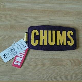 チャムス(CHUMS)のKazu.様専用 [新品未使用] チャムス ロゴパスケース(パスケース/IDカードホルダー)