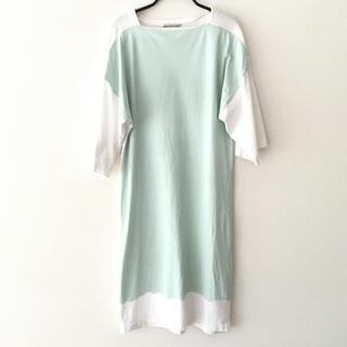 バレンシアガ(Balenciaga)のBALENCIAGA バレンシアガ Tシャツ ワンピース (ひざ丈ワンピース)