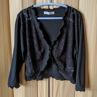 黒の七分袖ボレロM∼Lサイズ(ボレロ)