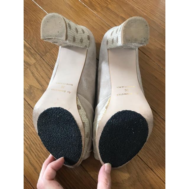 AU BANNISTER(オゥバニスター)のオゥバニスター パンプス 36 レディースの靴/シューズ(ハイヒール/パンプス)の商品写真