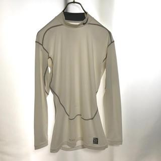 ナイキ(NIKE)のNIKE PRO COMBAT  長袖 白 ホワイト XL インナー Tシャツ(トレーニング用品)