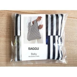 L'Appartement DEUXIEME CLASSE - 【新品未使用】Baggu エコバッグ ブラック ストライプ( baby )
