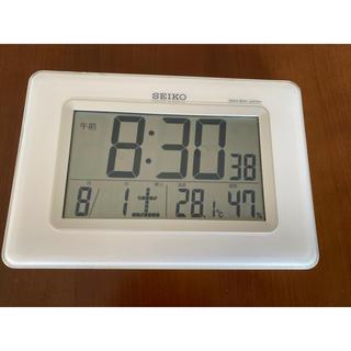 セイコー(SEIKO)のデジタル時計(置時計)