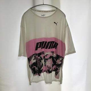プーマ(PUMA)のPUMA プーマ Tシャツ カットソー スポーツ レディース ピンク(ウェア)