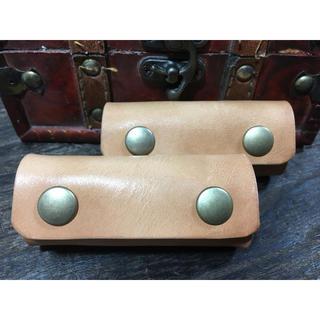 バッグ持ち手1個‼️特価 即発送OK‼️縦約11×横約8㎝ナチュラルwild仕様(ドラムバッグ)