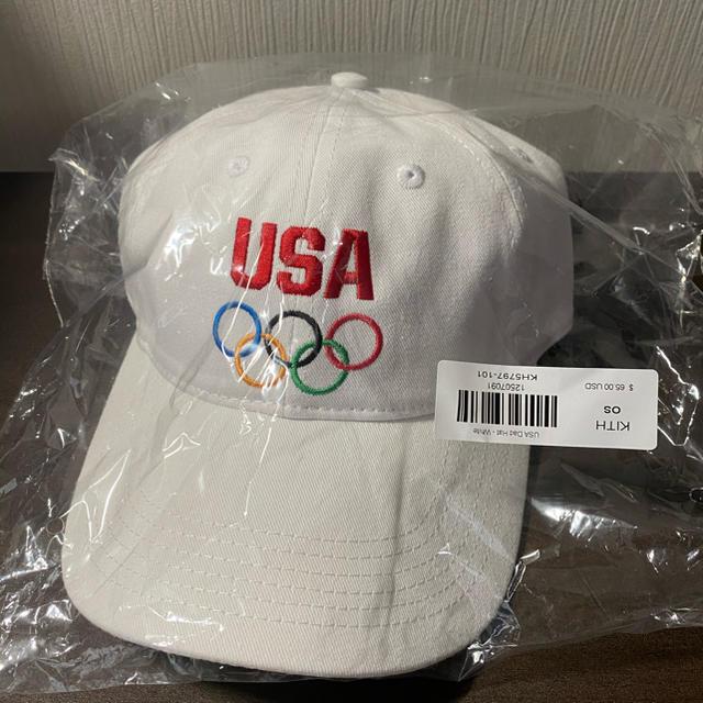 Supreme(シュプリーム)のKITH x TEAM USA Dad Hat メンズの帽子(キャップ)の商品写真