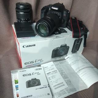キヤノン(Canon)のeoskissx9i(デジタル一眼)