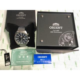 ORIENT - オリエント CAL.469 40周年記念世界限定モデル  2000本限定