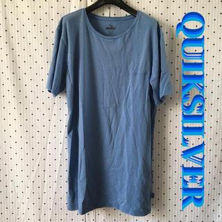 クイックシルバー(QUIKSILVER)のQSクイックシルバー US限定 ロゴ刺繍 ビンテージ Tシャツ(サーフィン)