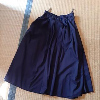 ユニクロ(UNIQLO)のユニクロ 濃紺スカート(その他)