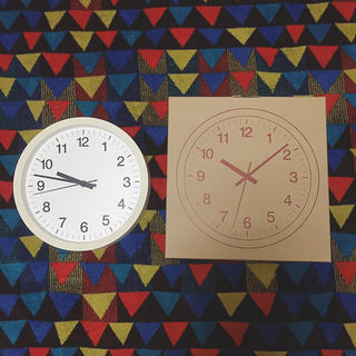 ムジルシリョウヒン(MUJI (無印良品))のウォールクロック(掛時計/柱時計)