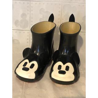 ダイアナ(DIANA)のダイアナ キッズ レインブーツ ミッキーマウス(長靴/レインシューズ)