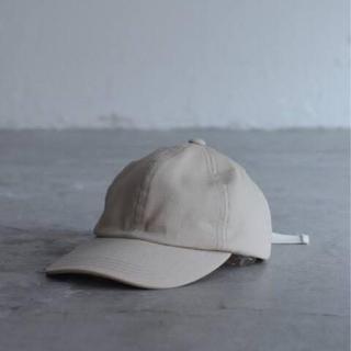 COMOLI - LE / エルイー 6 PANEL CAP