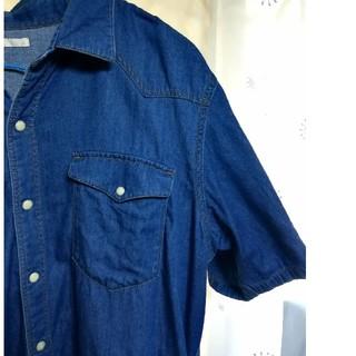 ジーユー(GU)のGU 半袖シャツ Lサイズ(シャツ)