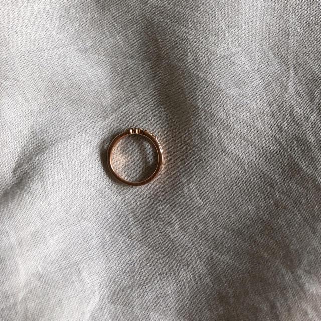 4℃(ヨンドシー)の4℃ ピンキーリング レディースのアクセサリー(リング(指輪))の商品写真