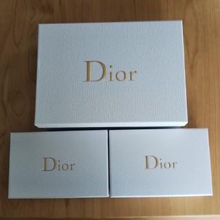 ディオール(Dior)のDior ギフトbox 箱 3個(ラッピング/包装)