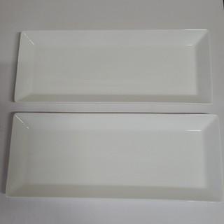 ニッコー(NIKKO)のNIKKO長角皿(白)×2(食器)