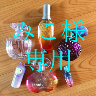香水5本セット&新品ボトル★フェラガモインカントエスカーダTONYMOLY