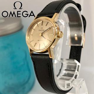 オメガ(OMEGA)のオメガ手巻き時計 デビル レディース腕時計 新品ベルト 新品電池 箱あり!54(腕時計)