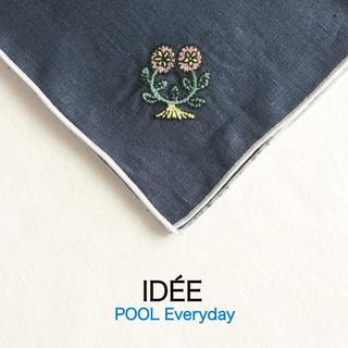 イデー(IDEE)の❂未使用❂ IDEE POOL Everyday ハンカチ フラワー(ハンカチ)