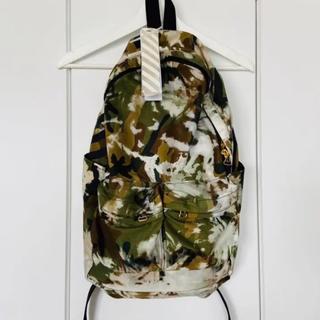 オフホワイト(OFF-WHITE)のOff-White オフホワイト diag backpack バックパック カモ(バッグパック/リュック)